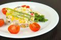 Салат из крабовых палочек и грибов