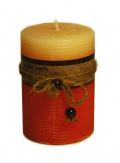 Свеча ароматическая 'Мускус' 7х10 см