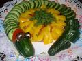 Украшения блюд: змея