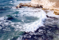 Чёрное море, Крым, Тарханкут. Шторм.