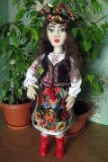 Садовые куклы от Заполарии. Великолепная Солоха