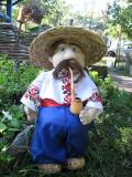 Садовые куклы от Заполарии. Пан Чуб.