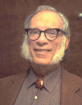Азимов Айзек (Исаак Озимов; Asimov, Isaac; 1920, местечко Петровичи, Белоруссия, – 1992, Нью-Йорк), биохимик и писатель. В 1923 г. его семья уехала из Советского Союза в США. В 1939 г. окончил Колумбийский университет, защитил докторскую диссертацию.