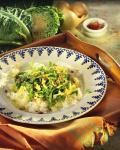 №5 Салат теплый рисовый с капустой
