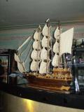 это корабль был в ресторане.