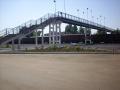 Мост, соединяющий село Кудеярово с городом, перекинутый через железнодорожные пути
