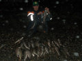 р. Нярма. Ночная рыбалка хариуса.