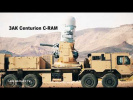 «Осиный рой» C-RAM «Centurion» 20-мм ЗАК ближнего действия