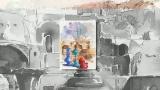 Акварель Иранского художника Ali Akbar Sadeghi