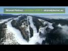 Skiareál Plešivec - 1.12.2013 - letecký pohled