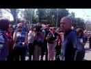 2 мая 2017 года. Одесса. Украинские фашисты оскорбляют людей