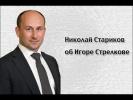 Николай Стариков об Игоре Стрелкове
