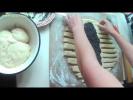 Как делать плетенку из теста