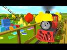 Развивающие мультфильмы: Паровозик Шонни. Учим формы и фигуры.