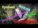"""Пробная ловля рыбы на водоеме """"Дневник рыболова"""""""