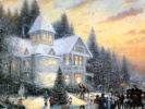 Рождество  в картинах Томаса Кинкейда.