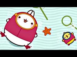 Мультсериал для детей Моланг. 8 серия: РЫБКА. Мультфильмы для детей.