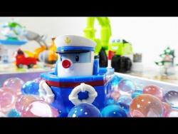Развивающее видео для детей. Цветные шарики в городе Брумс. Видео с игрушками.
