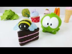 Видео для детей с игрушками. Голодный Ам Нямчик!. Прикольное видео для детей.