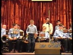 Детский духовой оркестр 1997 г