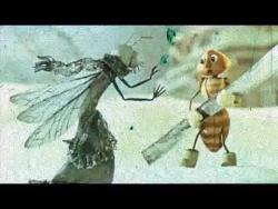 """Мультфильм """"Стрекоза и муравей"""""""