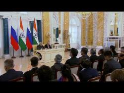 Заявления для прессы по итогам российско-индийских переговоров