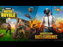 PUBG vs FORTNITE Battle Royale что лучше?
