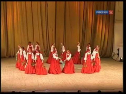 Ансамбль Березка Во поле березка стояла Beriozka Ensemble Russian