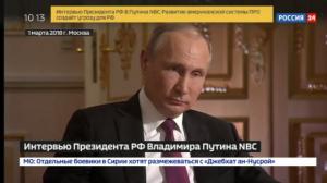 Путин: Россия предупреждала США, что будет развивать ударные системы