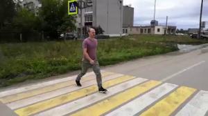 Пешеходный переход, который мы заслужили г. Аша