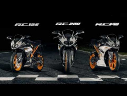All New and Ready To Race: KTM RC 125, RC 200, RC 390