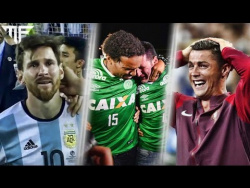 MOST DRAMMATIC MOMENTS OF FOOTBALL IN 2016   #RESPECT   HD