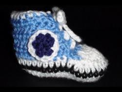Art of Crochet by Teresa - Crochet Baby High Top Booties