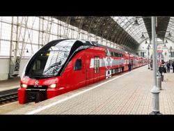 Смотрим самый крутой поезд в России