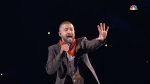 Justin Timberlake на Super Bowl Halftime Show 2018