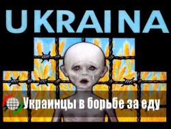 Украинцы в борьбе за еду