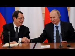 Пресс-конференция по итогам российско-кипрских переговоров