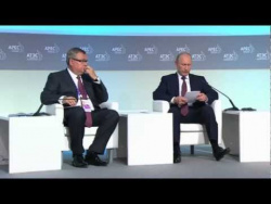 APEC business summit plenary session