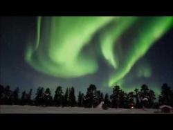 Amazing Night with Northern Lights