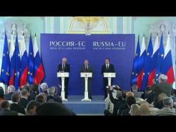 Пресс-конференция по итогам саммита Россия-ЕС