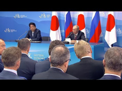 Press statements following Russian-Japanese talks