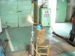 МЧС Базальтовая веревка 4,55 минут под весом 120 кг