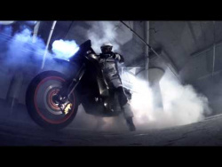 The World's First Two Wheeled Motorcycle Burnout