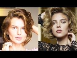 Как сделать локоны Скарлетт Йохансон? / Hairstyle Scarlett Johansson (KatyaWORLD)