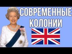 Современные Британские колонии