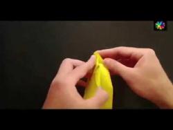 Как сделать кролика из бумаги?