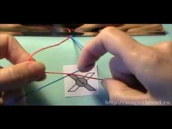 Основные узлы  для плетения фенечек