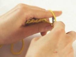 Вязание крючком  Урок 10
