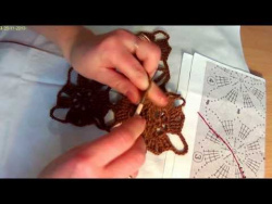 Вязание из мотивов ч.3     Knitting Part 3 of the motives