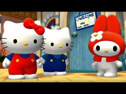 Приключения Хелло Китти (Hello Kitty). Пропавшая улыбка Мелодии. Мультики для девочек.